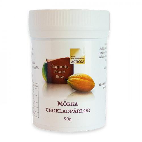 Acticoa Chokladpärlor 90g