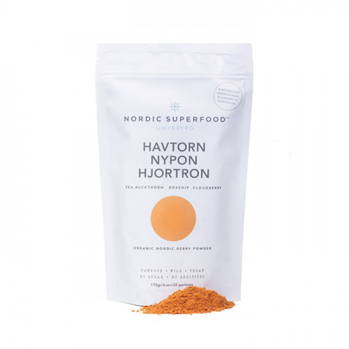 Nordic Superfood by Myrberg Havtorn Nypon Hjortron 175g