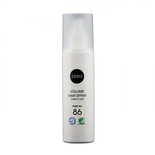 ZENZ No. 86. Volume Hair Spray Medium Hold Pure 200 ml