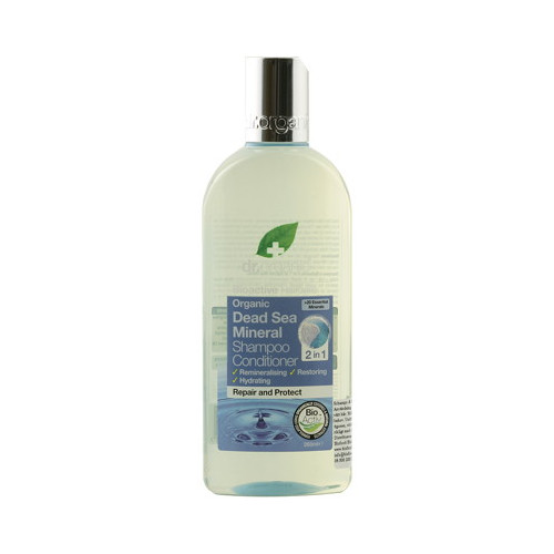 Dr Organic Dead Sea Mineral 2 in 1 Shampoo Conditioner 265ml