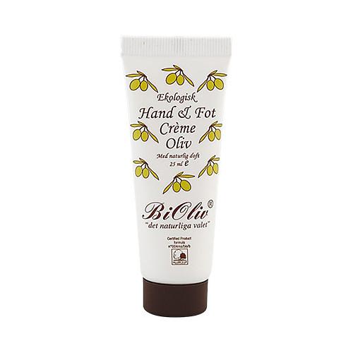 BiOliv BiOliv Hand & Fot Crème Oliv 25ml EKO