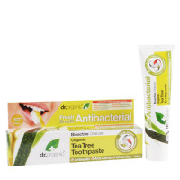 Dr Organic Tea Tree Toothpaste 100ml EKO