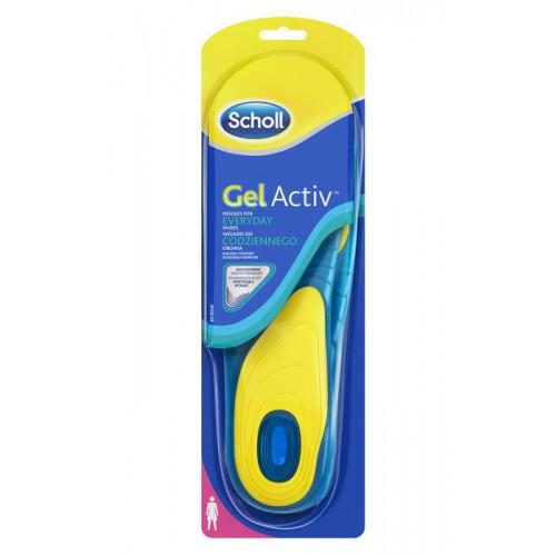 Scholl Sulor Gel Activ Everyday Women 1par