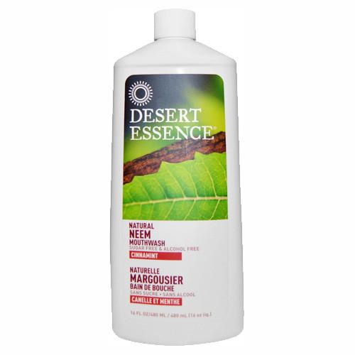 Desert Essence Munvatten CinnaMint Neem 480ml