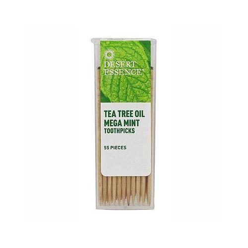 Desert Essence Tandpetare Tea Tree Oil Mega Mint 55st