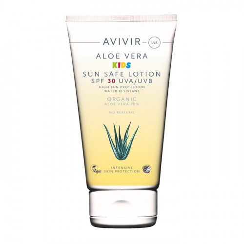 Avivir Aloe Vera KIDS Sun Safe lotion  Spf 30 150ml