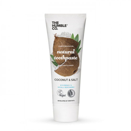 The Humble Co Humble Natural Toothpaste  Coconut & Salt 75ml
