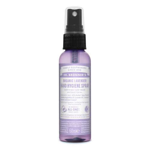 Dr. Bronner's Magic Soaps Lavender Hand Sanitizer 60ml