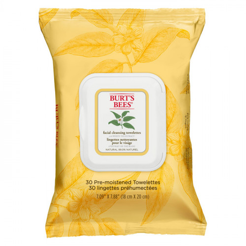 Burt's Bees Facial Cleansing Towelettes - White Tea Extract 30 st