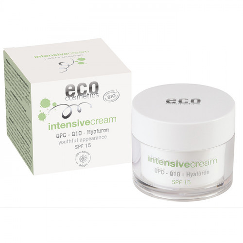 Eco Cosmetics Intensive spf15 OPC, Q10 & Hyaluron  60 ml EKO