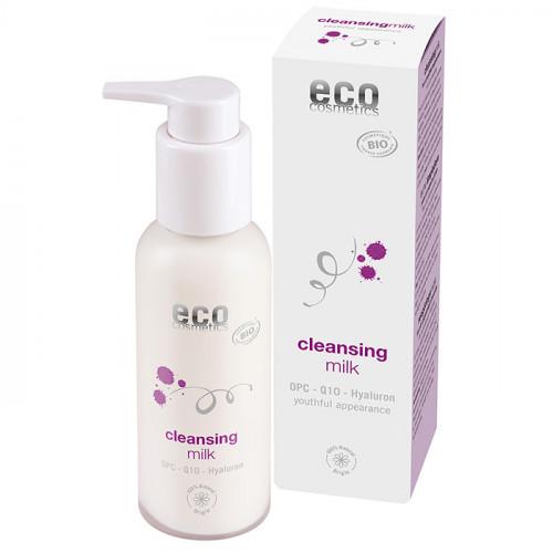 Eco Cosmetics Rengöringsmjölk OPC, Q10 & Hyaluron  100 ml EKO