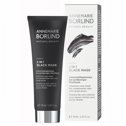Börlind 2 in 1 Black Mask 75ml EKO Vegan