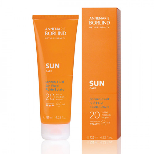 Börlind SUN Fluid SPF 20 125 ml EKO Vegan