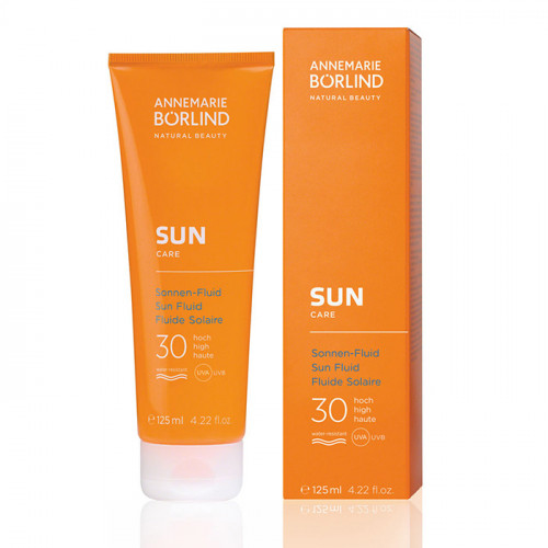 Börlind SUN Fluid SPF 30 125 ml EKO Vegan