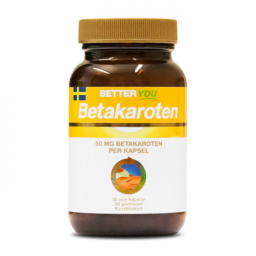 Better You Betakaroten 50mg 50k veg