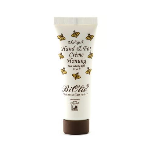 BiOliv BiOliv Hand & Fot Crème Honung 25 ml EKO