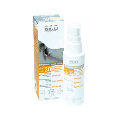 Eco Cosmetics Sololja Spray Transparant spf30 50ml EKO