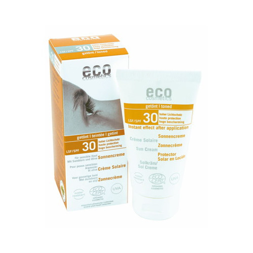 Eco Cosmetics Solkräm Tonad SPF30 75ml EKO
