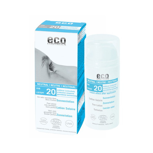 Eco Cosmetics Sollotion Neutral SPF20 100ml EKO