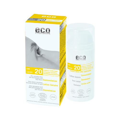 Eco Cosmetics Sollotion Goji Granat SPF20 100ml EKO