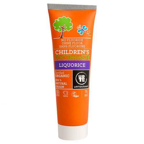 Urtekram Urtekram Children liquorice Toothpaste 75ml EKO