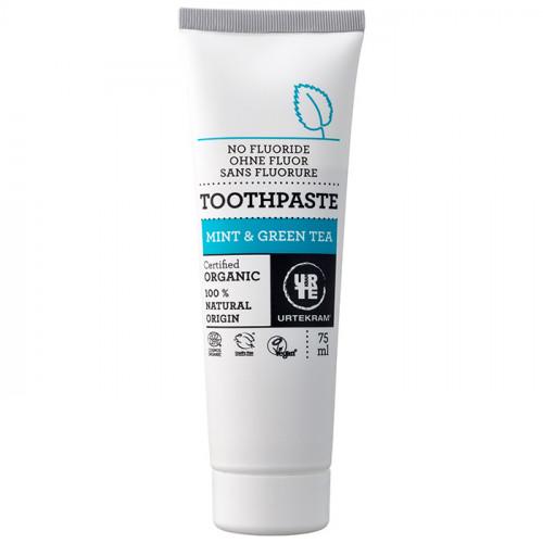 Urtekram Urtekram Mint & Green Toothpaste 75ml EKO