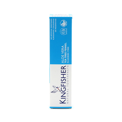 Kingfisher Natural Toothpaste Aloe Vera Tea Tree Fennel 100ml