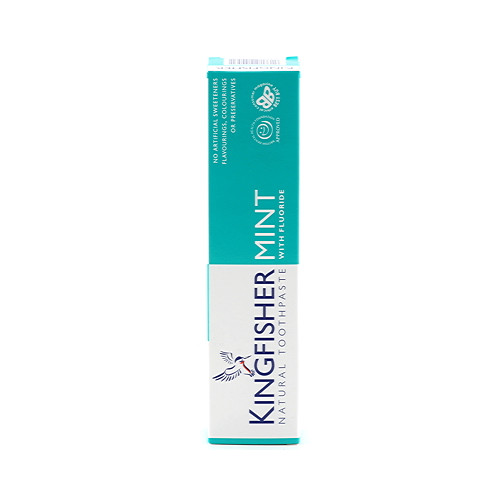 Kingfisher Natural Toothpaste Mint with Flouride 100ml