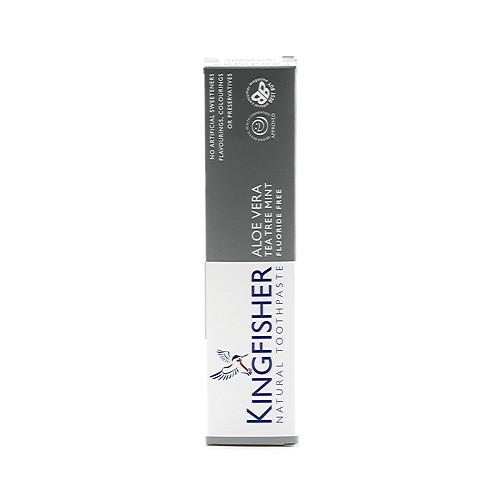Kingfisher Natural Toothpaste Aloe Vera Tea Tree Mint 100ml