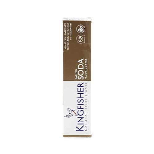 Kingfisher Natural Toothpaste Baking Soda Flouride Free 100ml