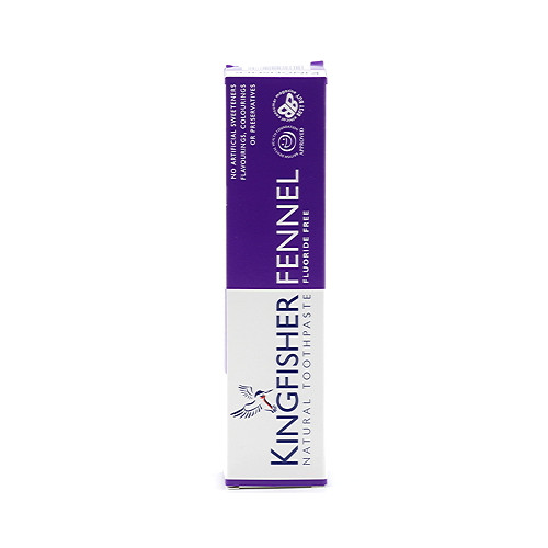 Kingfisher Natural Toothpaste Fennel Flouride Free 100ml