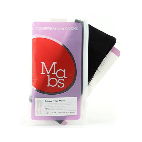 Mabs Nylon Strumpbyxa Mama Svart L Medicinsk klass 1 - 18-20 mmHg