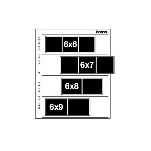 HAMA Arkivsystem 60-70/4x3/100 Pergamyn