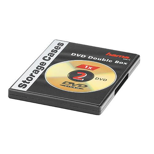 HAMA DVD-Box Dubbel Svart  5-pack