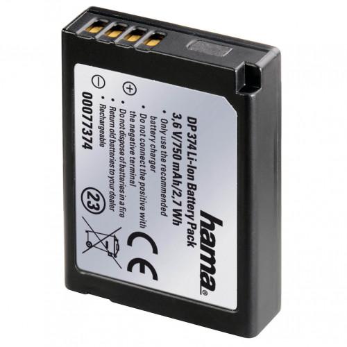 HAMA Kamerabatteri Panasonic DMW-BCG10 Li-Ion 3,6V/850mAh