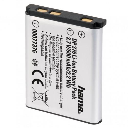 HAMA Kamerabatteri Casio NP-80 Li-Ion 3,7V/600mAh