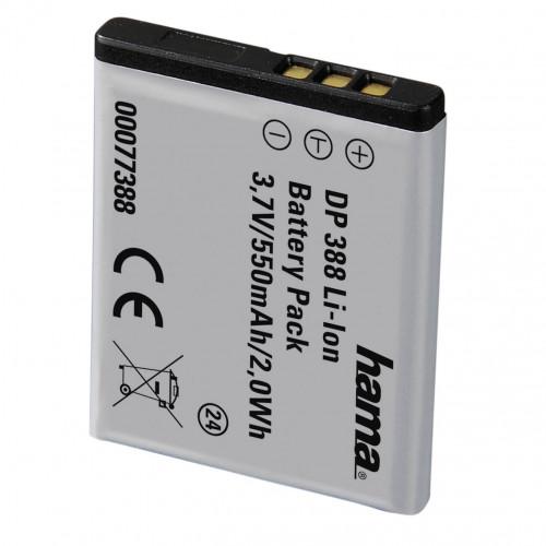 HAMA Kamerabatteri Olympus Li-70b Li-Ion 3,7V/550mAh