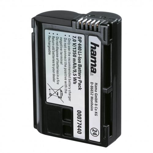 HAMA Kamerabatteri Nikon EN-EL15 Li-Ion 7,0V/1350mAh