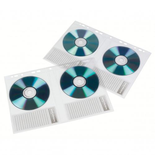 HAMA CD/DVD Förvaring för Pärm A4