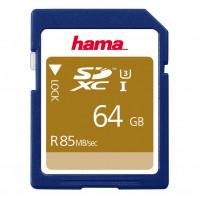 HAMA Minneskort SDXC 64GB 85MB/s Class 3