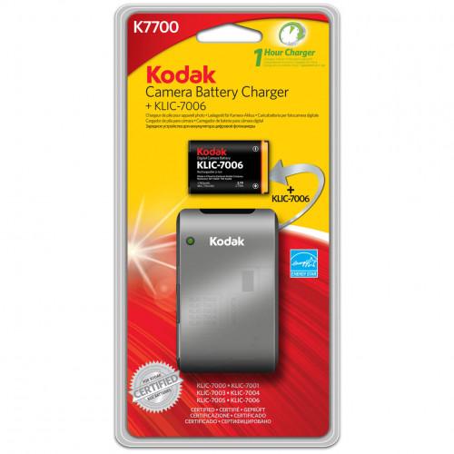 KODAK Batteriladdare Li-Ion K7700-C + KLIC-7006