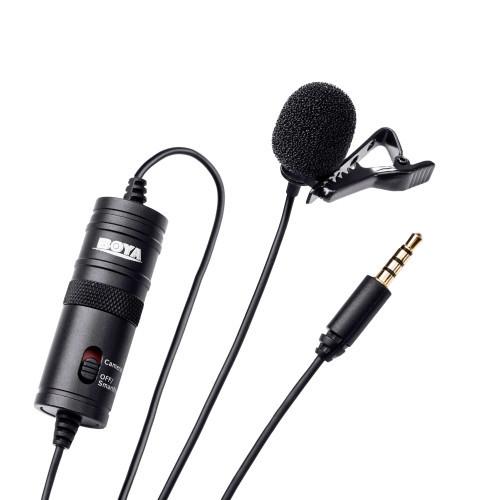 BOYA Mikrofon Lavalier BY-M1 3.5mm 6m