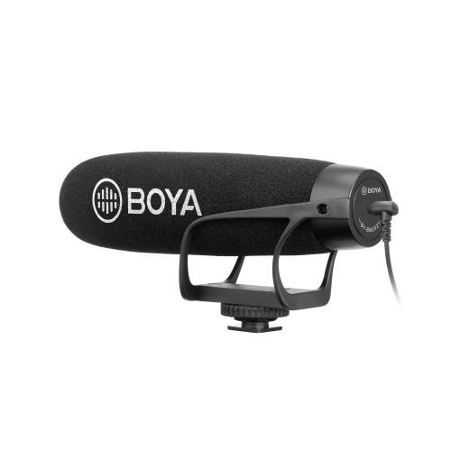 BOYA Mikrofon Shotgun BY-BM2021 3.5mm Kondensator