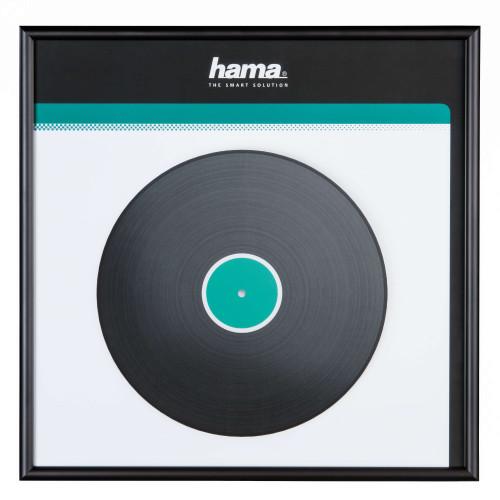HAMA Ram för LP-skiva Aluminium Svart 31.5x31.5cm
