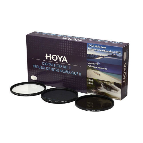 HOYA Filterkit UV(C) Pol.Circ. NDx8 58mm