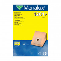 MENALUX Dammsugarpåsar 1201P Papper 5-pack