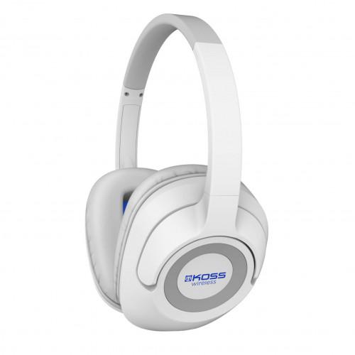 KOSS Hörlur BT539iW Bluetooth Over-Ear Vit Mic