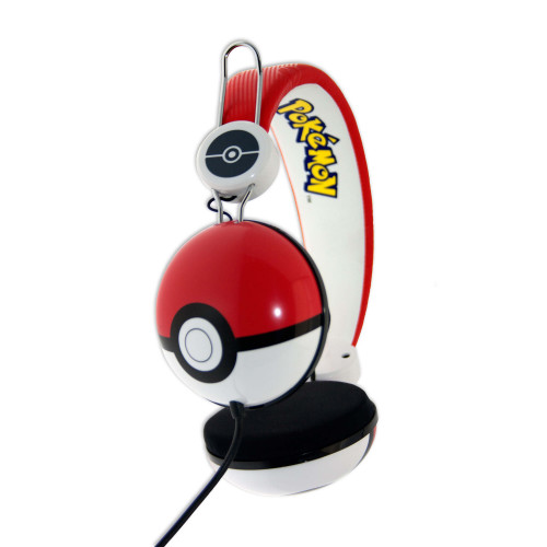 POKEMON Hörlur Dome Tween  On-Ear 90dB Röd Pokeball