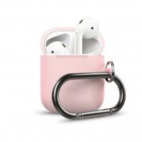 ELAGO Skyddsväska för Airpod med Hängare Rosa