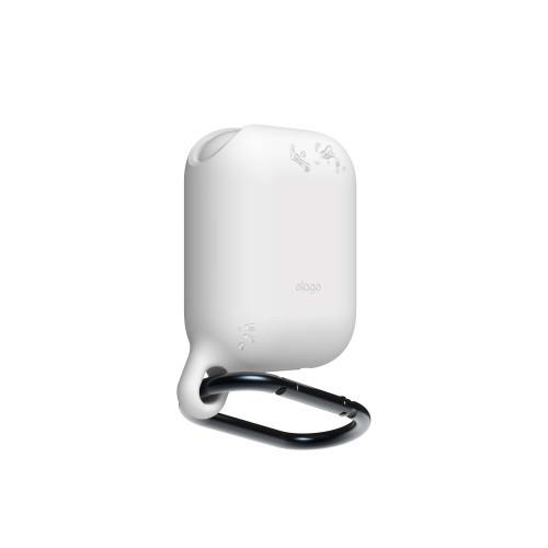 ELAGO Skyddsväska för Airpod Vattentät med Hängare Vit